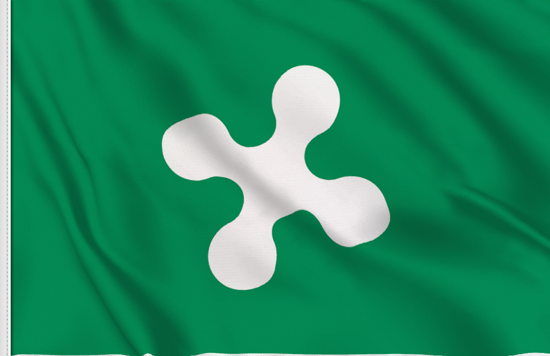 Lombardei aufkleber fahne