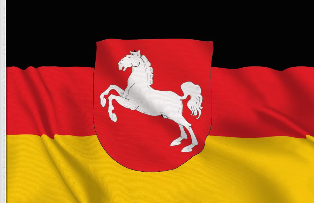 fahne Niedersachsen, flagge von Niedersachsen
