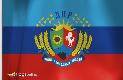 Republica Popular de Lugansk flag