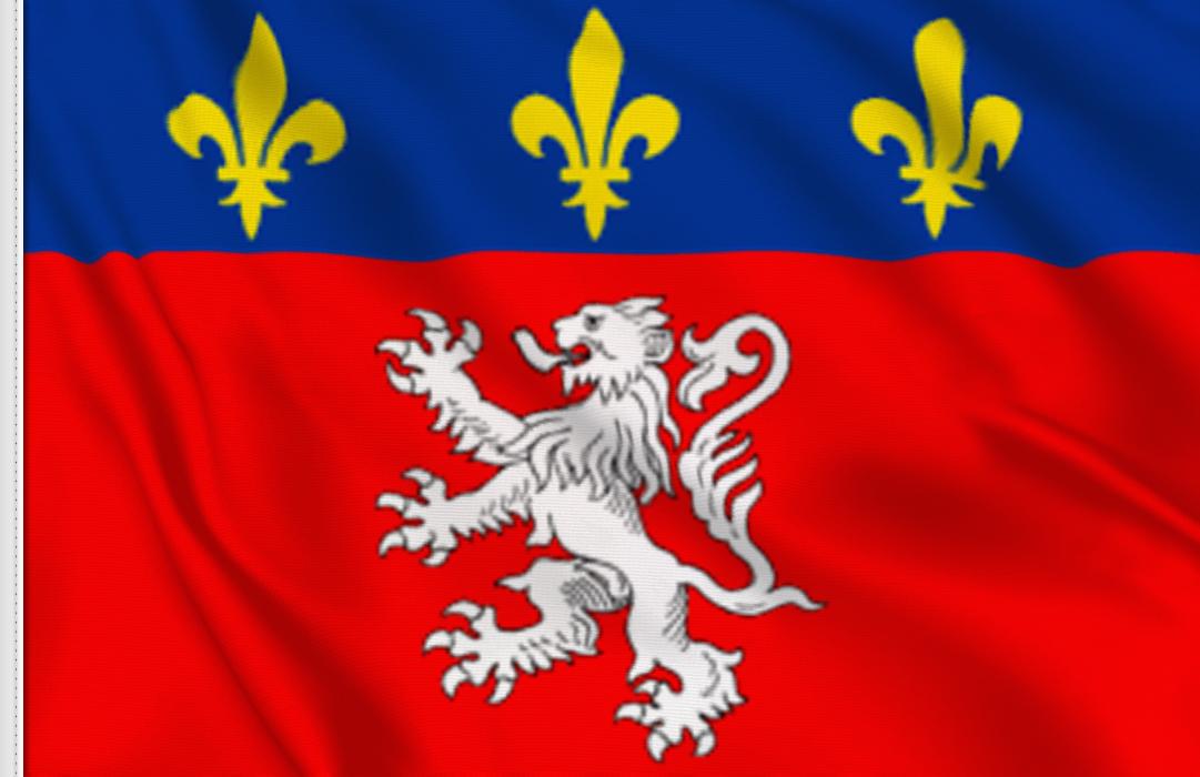 fahne Lyon, flagge Lyon