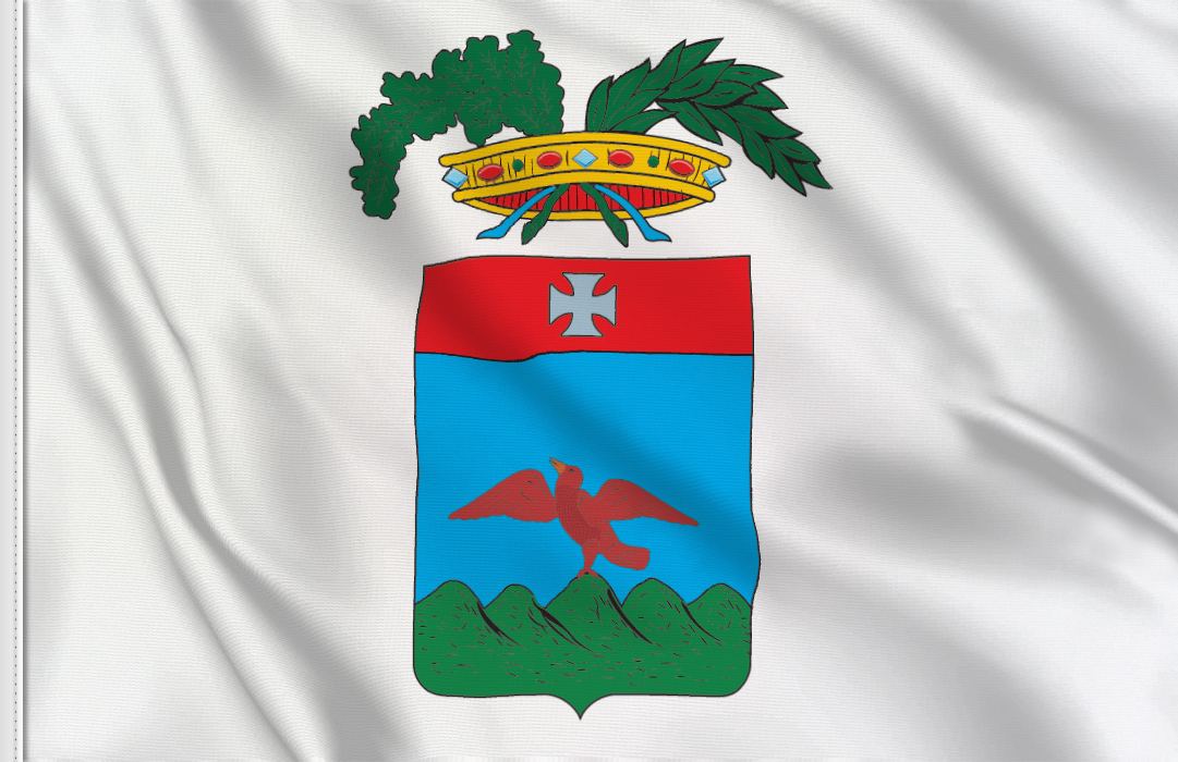 fahne Macerata Provinz, flagge von Macerata