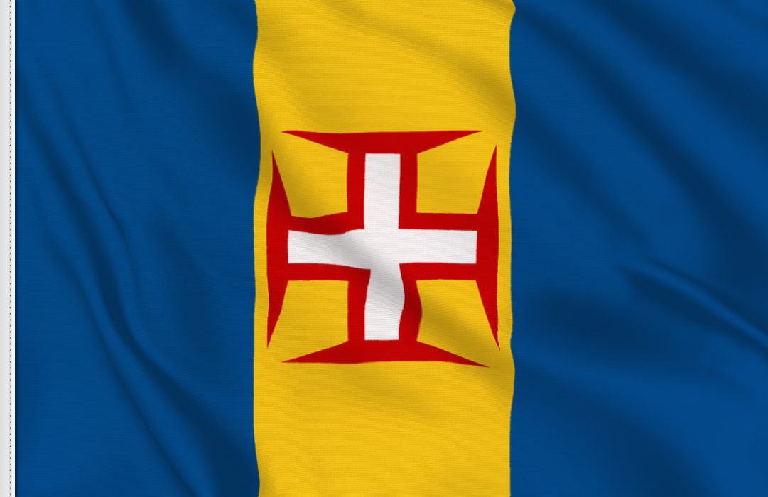 fahne Madeira, flagge von Madeira