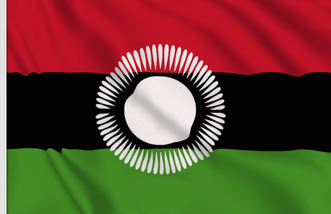 fahne Malawi 010-01, flagge Malawis