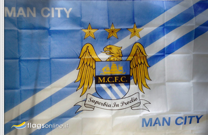 Manchester City Football Club official flag