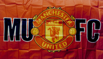 fahne Manchester United FC, flagge der Manchester