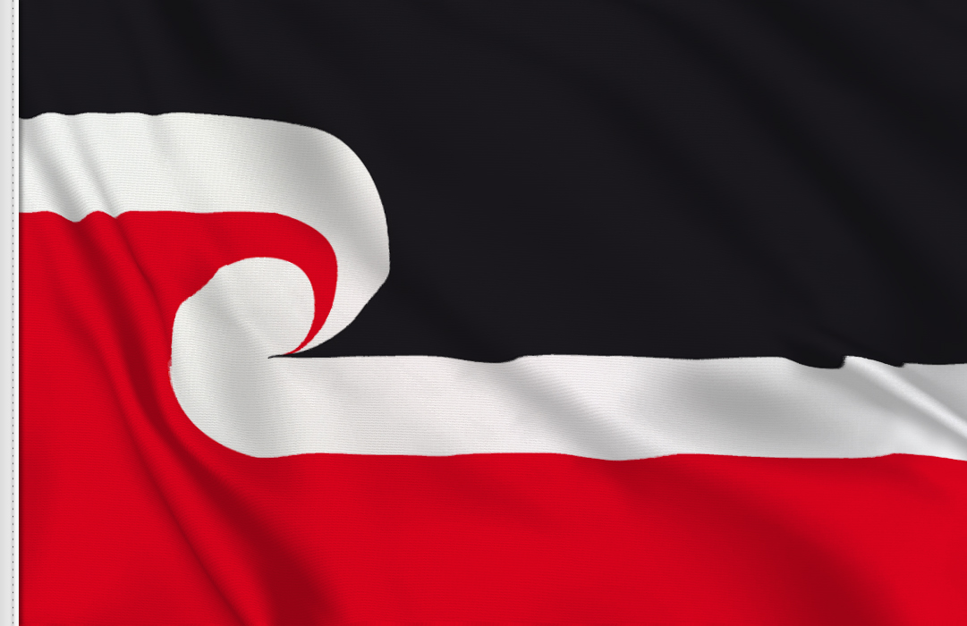 Maori table flag