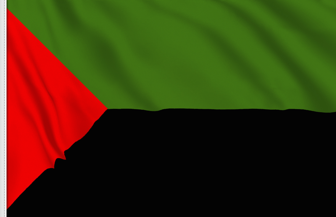 bandera pegatina de Martinica