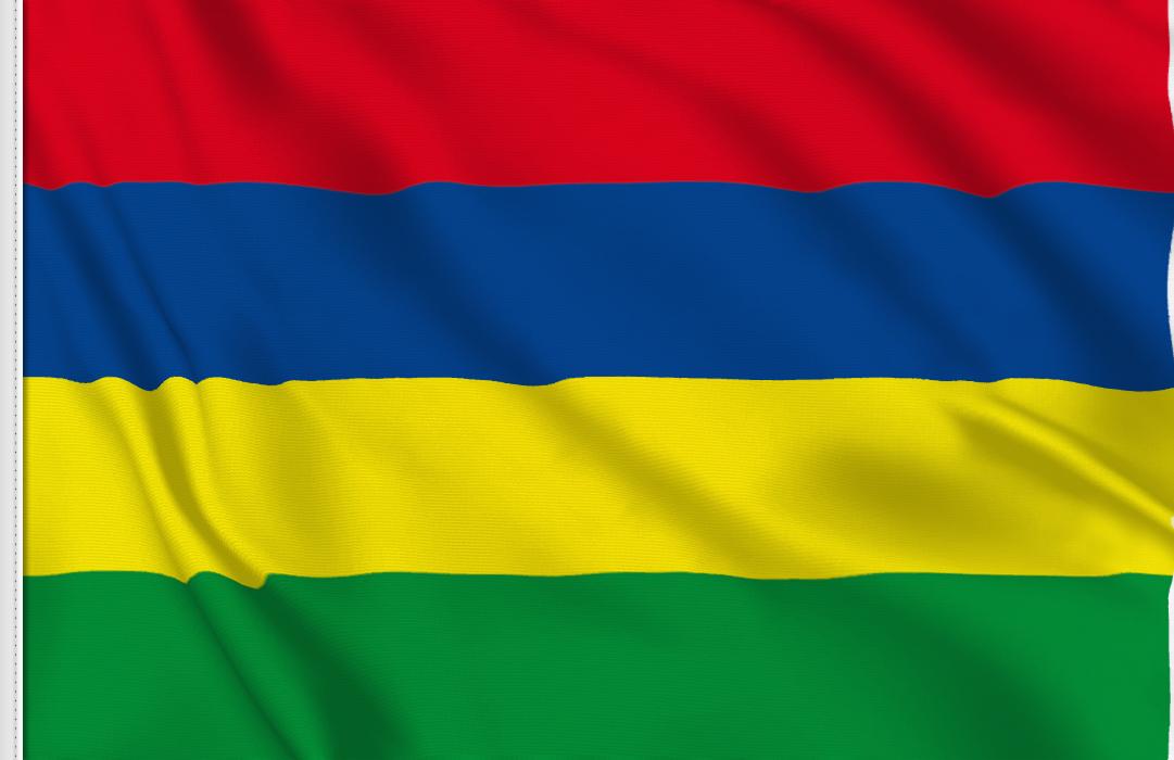 Mauritius table flag