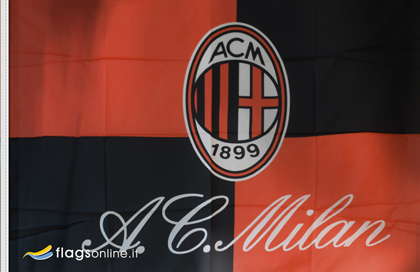 Milan AC official flag