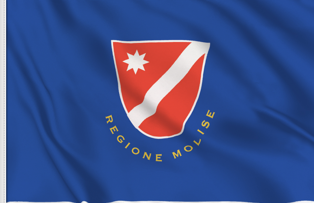 bandera pegatina de Molise