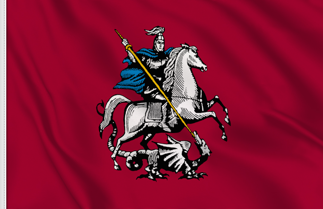 Moscow table flag