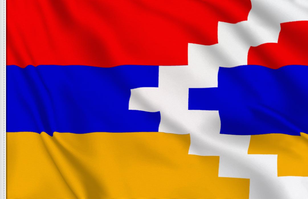 fahne Bergkarabach, flagge von Bergkarabach