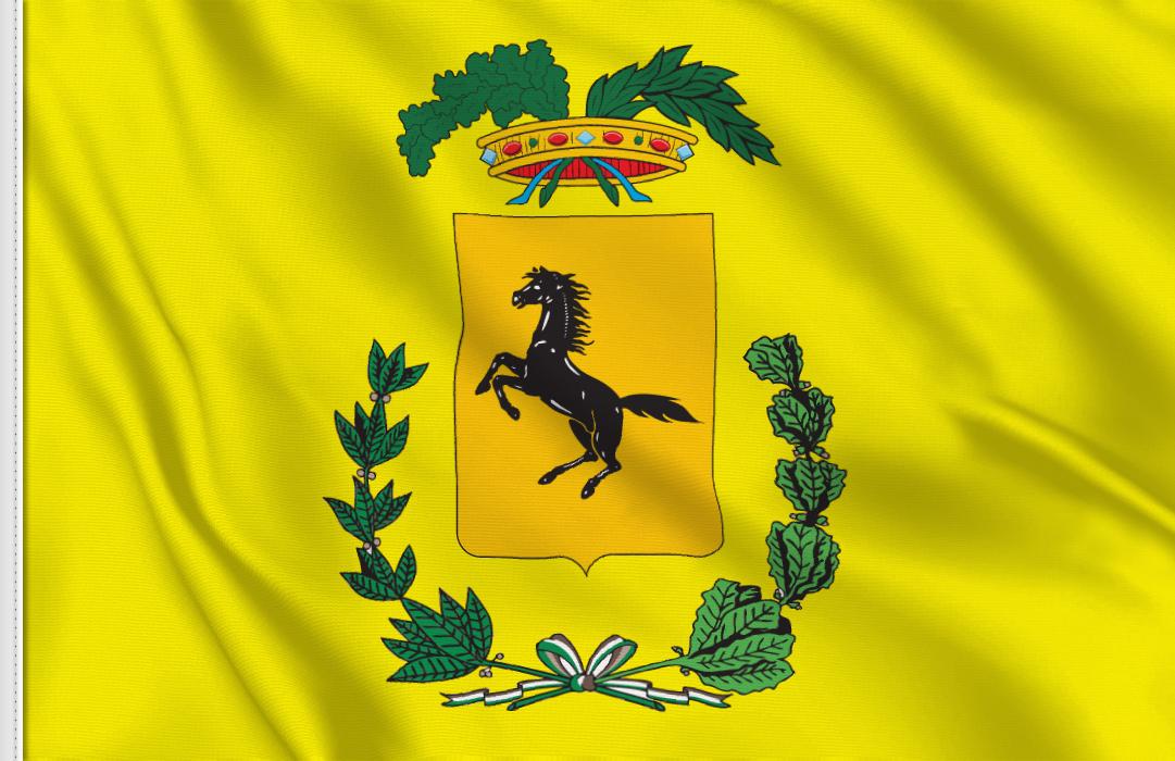 fahne Neapel- Provinz, flagge der Provinz Neapel