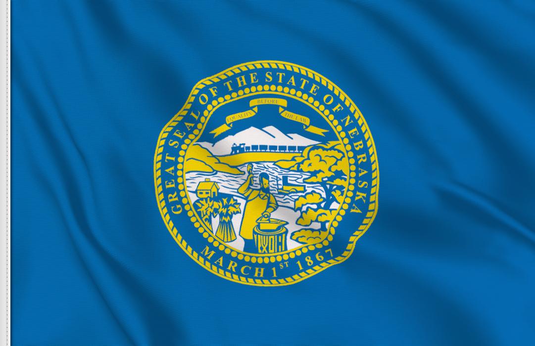 bandiera adesiva Nebraska