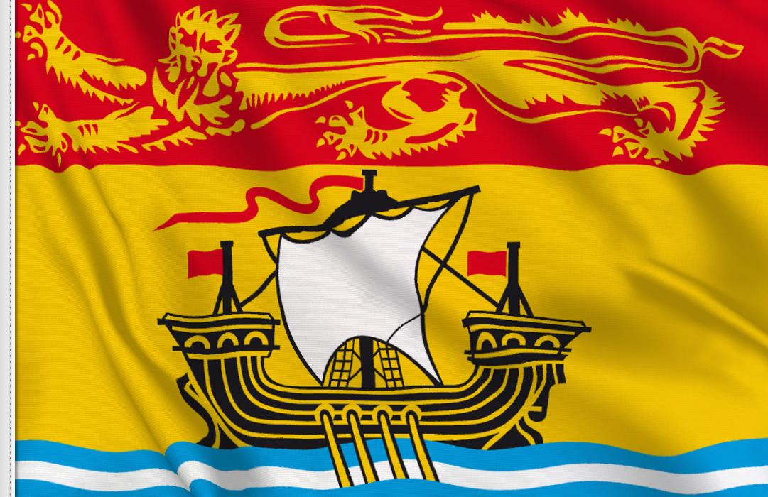 Bandiera Adesiva New Brunswick