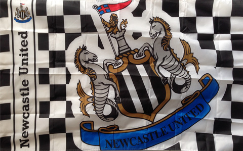 Bandiera Newcastle United FC