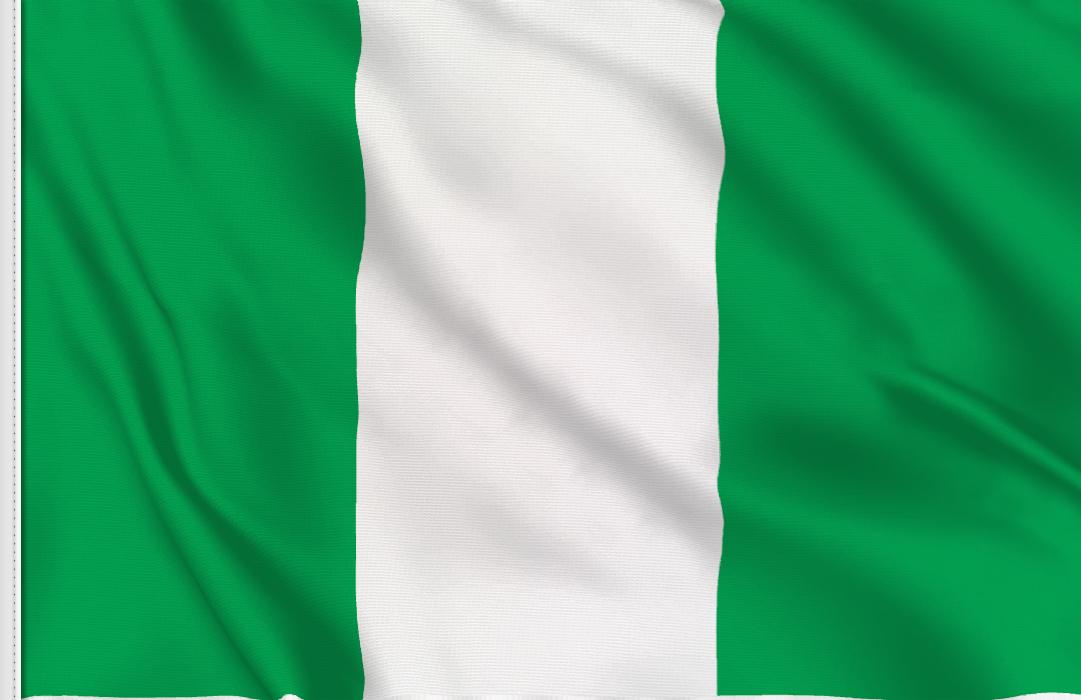 bandera adhesiva de Nigeria