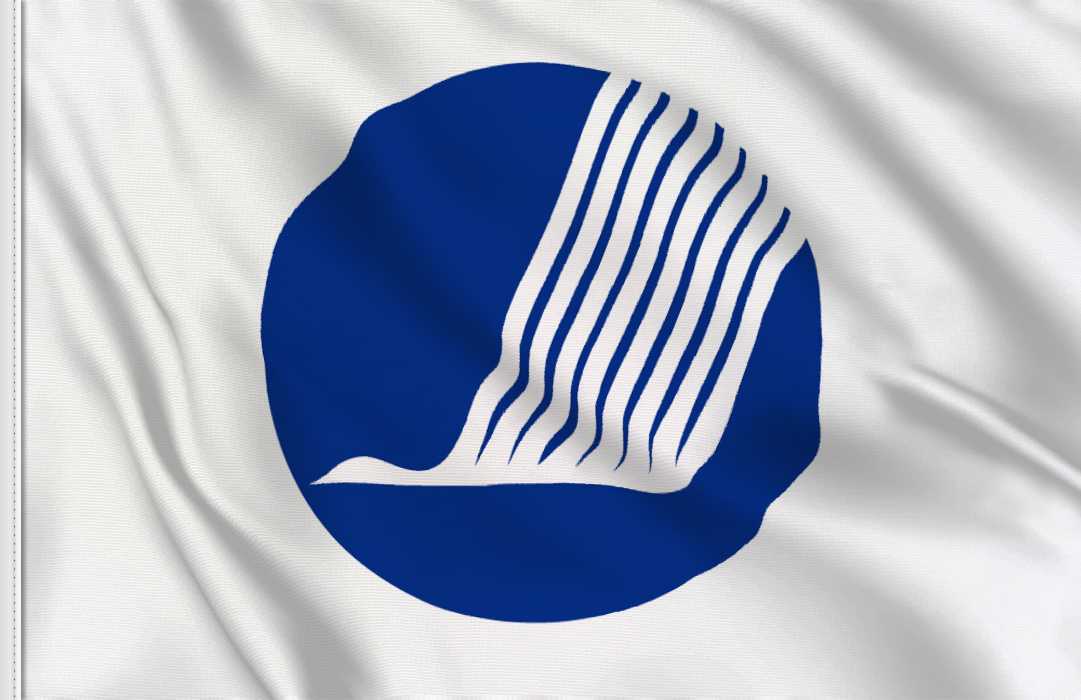 bandera pegatina de Consejo Nordico