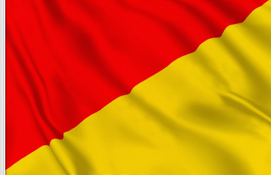 Letra O flag