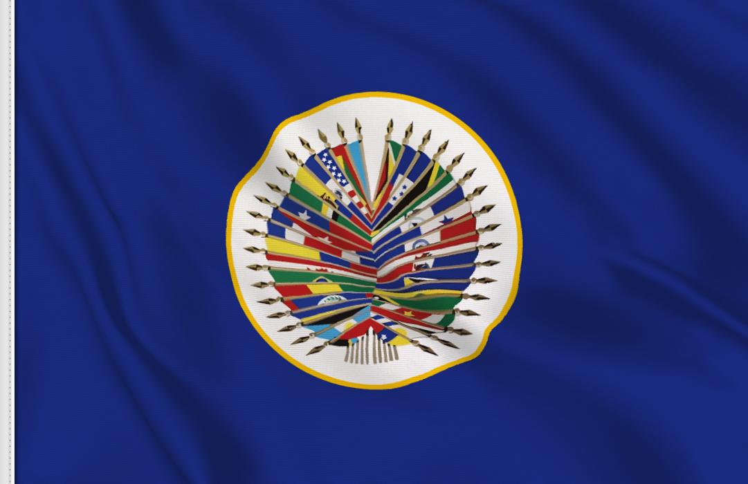 fahne OAS, flagge der Organisation Amerikanischer Staaten
