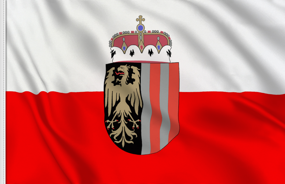 Upper Austria flag