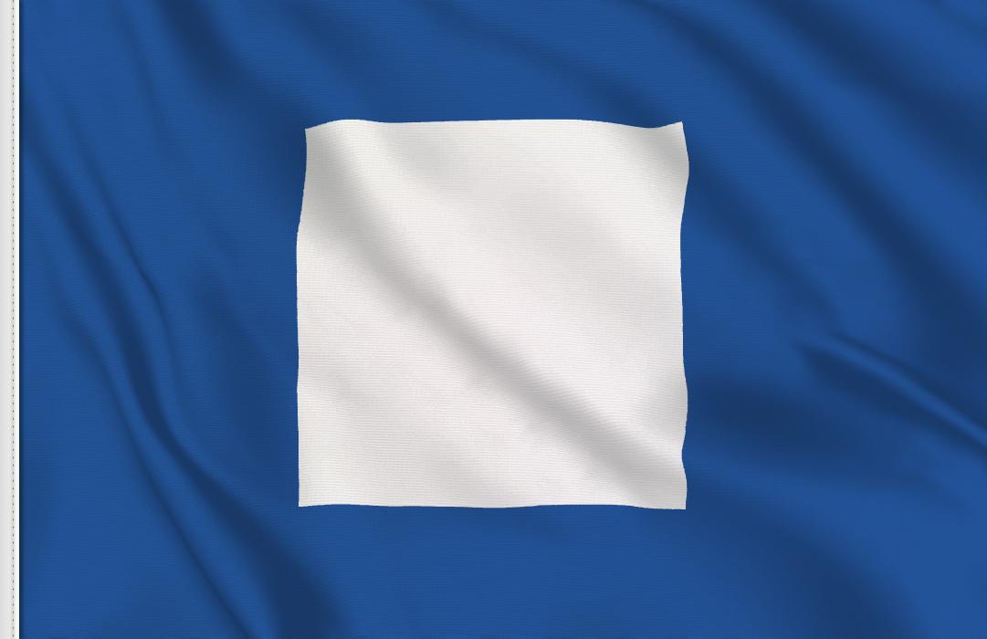 Letra P flag