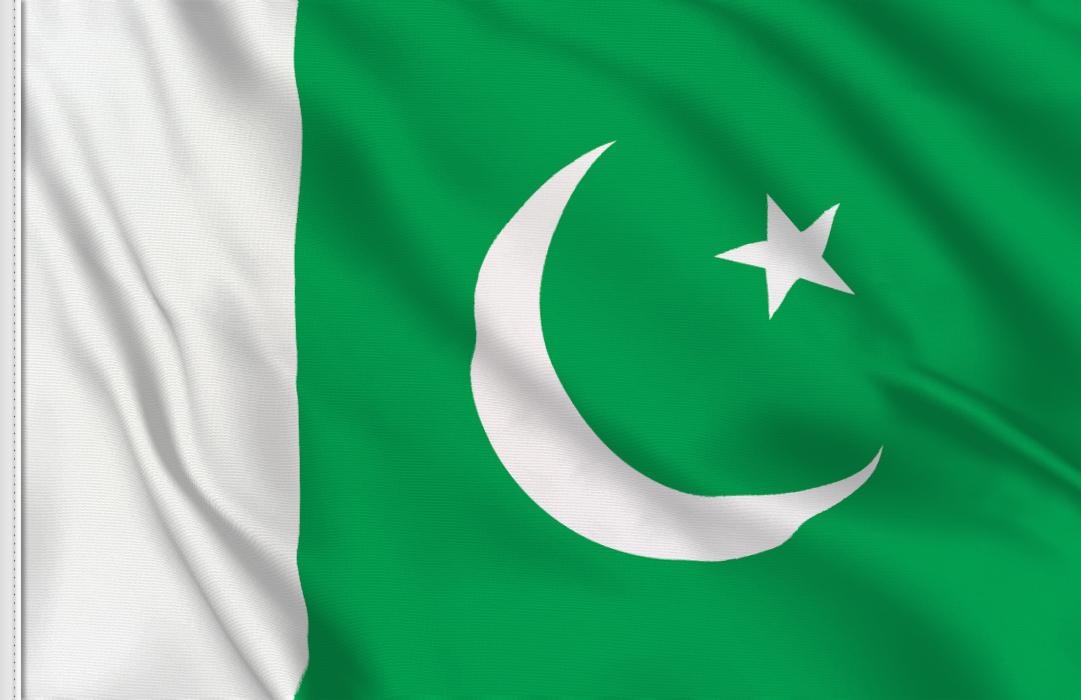Pakistan aufkleber fahne