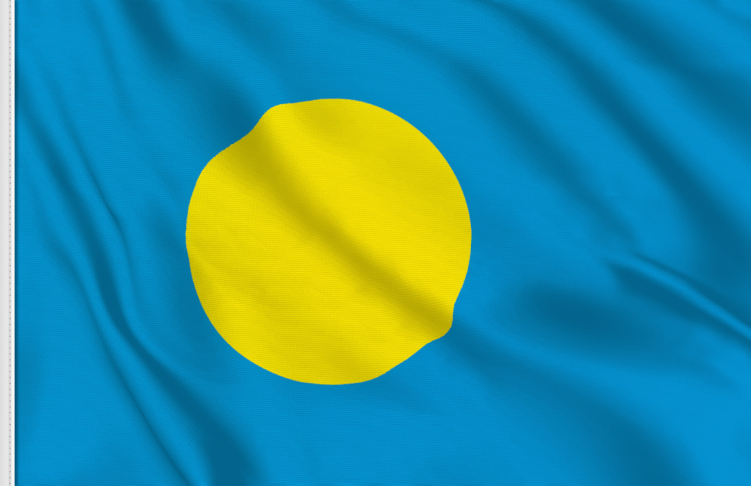 Palau table flag