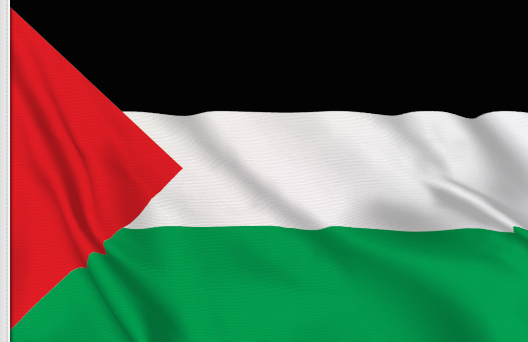 Palestine table flag