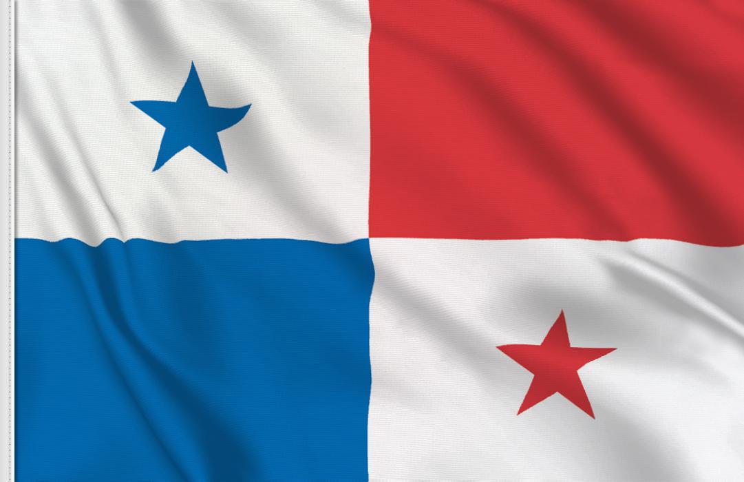 Flag sticker of Panama