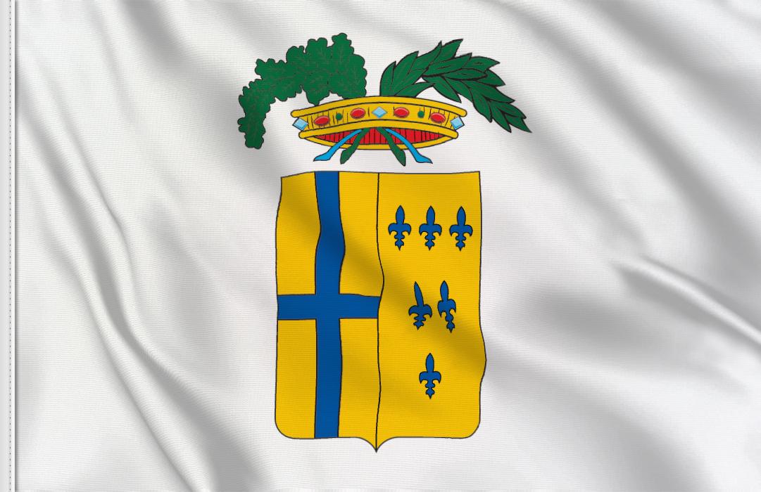 fahne Parma Provinz, flagge von Parma