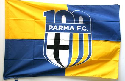 fahne FC-Parma, flagge von FC-Parma