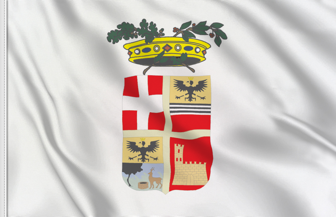 fahne Pavia Provinz, flagge der Provinz Pavia