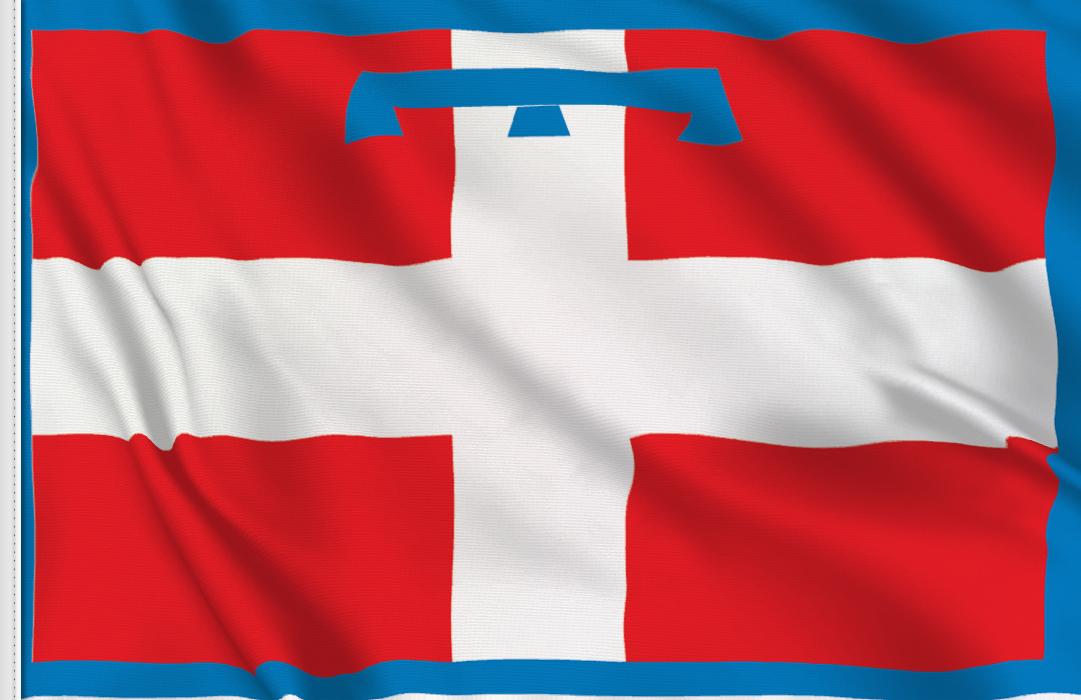 bandera pegatina de Piemonte