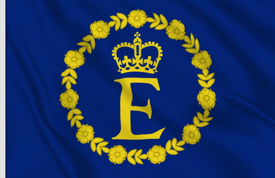 fahne Royal Standard von Elisabeth II, flagge von Elisabeth II