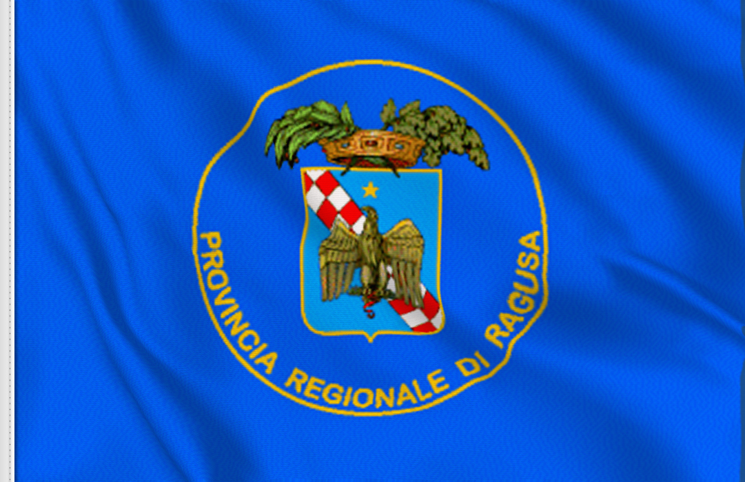 fahne Ragusa-Provinz, flagge der Provinz Ragusa