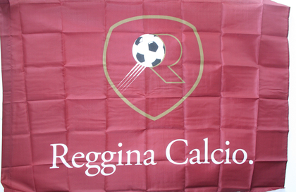 fahne Reggina-Calcio, flagge von Reggina Calcio