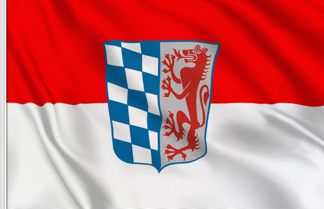 fahne Niederbayern, flagge von Niederbayern