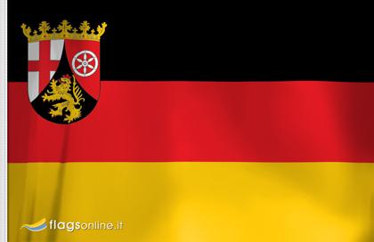 Rheinland-Pfalz Aufkleber, Autoaufkleber Flaggen von Rheinland-Pfalz