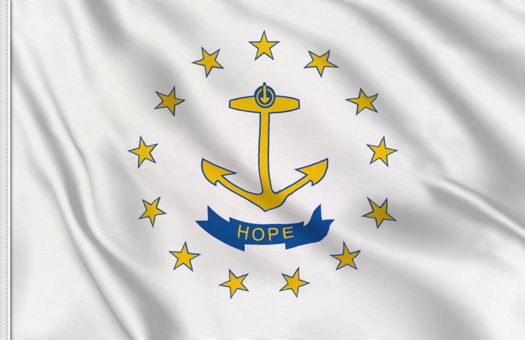 Bandiera Rhode-Island
