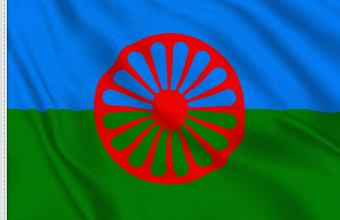 fahne Zigeuner, flagge des Zigeunervolks