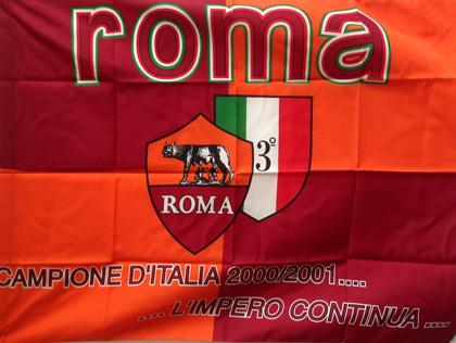 Bandiera Roma Campione