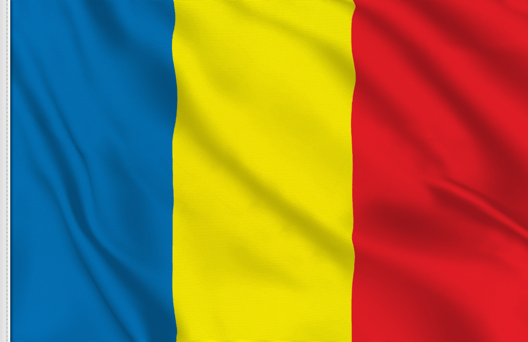 Romania flag stickers