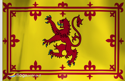 Estandarte Real de Escocia flag