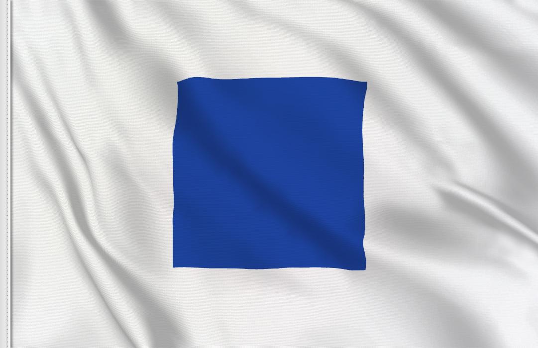fahne Buchstabe S, flagge Sierra