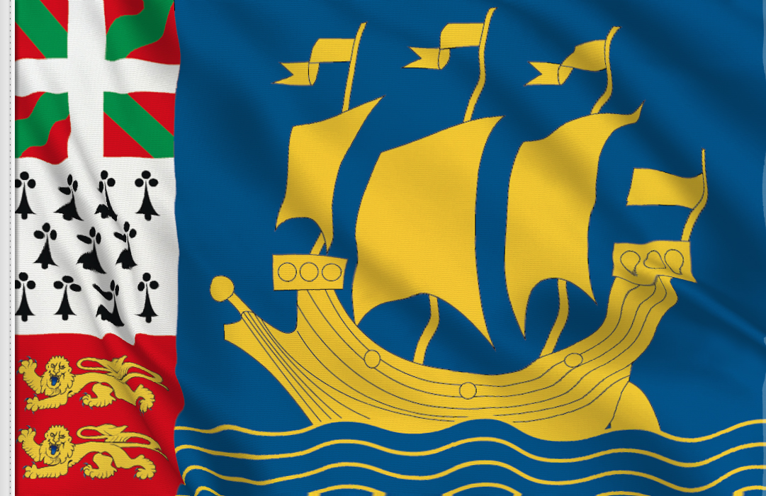 Saint Pierre flag