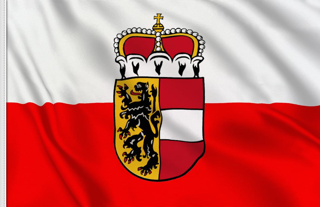 fahne Salzburg, flagge von Salzburg