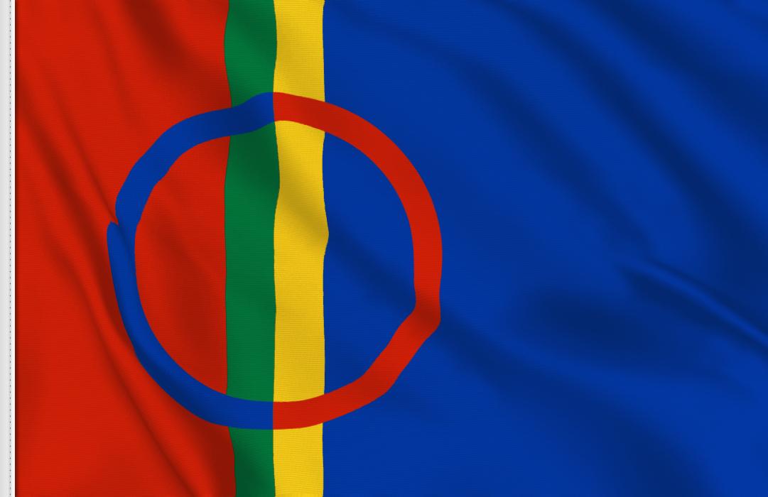 fahne Lappland, flagge lapplandische