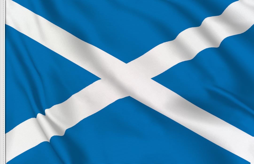 drapeau adhésif du Ecosse