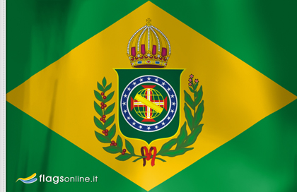 Second Empire of Brasil flag